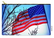 Flying Ol Glory Carry-all Pouch