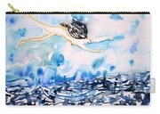 Flying Over Troubled Waters Carry-all Pouch
