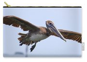 Flying Pelican Panorama Carry-all Pouch