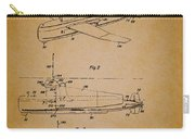 Flying Submarine Patent Carry-all Pouch