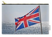 Flying The British Flag Carry-all Pouch
