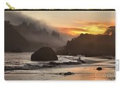 Fog And Fire Carry-all Pouch by Adam Jewell