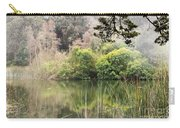 Fog And Reeds Carry-all Pouch