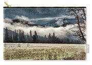 Fog Beyond The Tilled Field  Carry-all Pouch