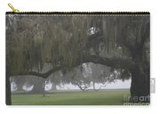 Fog In Ancient Oaks Carry-all Pouch