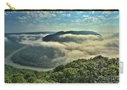 Fog In The Grand View Valley Carry-all Pouch
