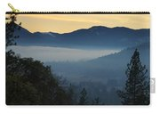Fog Invades The Evans Valley Carry-all Pouch