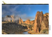 Fog Over Smith Rock Carry-all Pouch