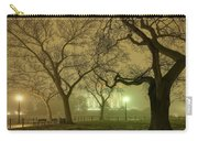 Foggy Approach To The Lincoln Memorial Carry-all Pouch