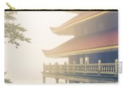 Foggy At The Reading Pagoda Carry-all Pouch