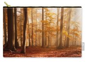 Foggy Beech Forest Carry-all Pouch