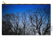 Foggy Blue Morning Carry-all Pouch