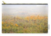 Foggy Country Autumn Morning Carry-all Pouch