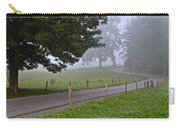 Foggy Country Lane Carry-all Pouch