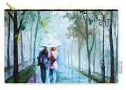 Foggy Day New Carry-all Pouch by Leonid Afremov