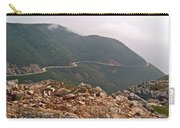 Foggy Day Road Through Cape Breton Highlands Np-ns Carry-all Pouch