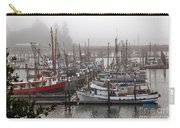Foggy Ilwaco Port Carry-all Pouch by Robert Bales