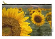 Foggy Morning At The Sunshine Farm Carry-all Pouch