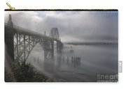 Foggy Morning In Newport Carry-all Pouch