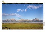 Foggy Sunrise On The Tetons - Grand Teton National Park Wyoming Carry-all Pouch