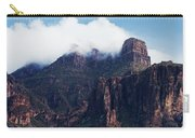 Foggy Superstition Mountains   Carry-all Pouch