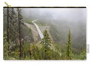 Foggy View From Icefields Parkway Carry-all Pouch