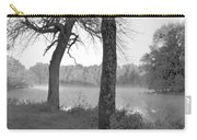 Foggy Waters Bw Carry-all Pouch