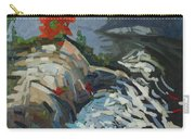 Foggy Whitefish Rapids Carry-all Pouch