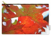 Foglie Di Rosse Carry-all Pouch