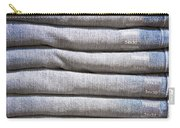 Folded Denim Carry-all Pouch