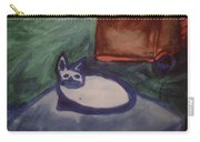 Folk Art Cat Carry-all Pouch