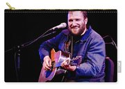 Folk Musician David Bazan In Concert Carry-all Pouch