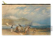 Folkestone Harbour And Coast To Dover Carry-all Pouch
