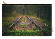Following The Tracks Carry-all Pouch