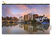 Folly Bridge In Oxford. Carry-all Pouch