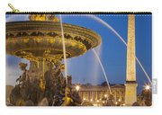 Fontaine Des Mers Carry-all Pouch
