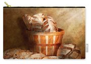 Food - Bread - Your Daily Bread Carry-all Pouch by Mike Savad