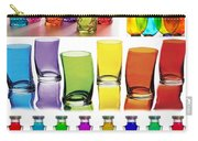 Food Coloring Ensemble Wide-rainbow Theme Carry-all Pouch