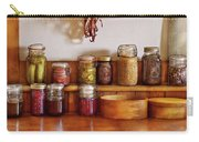 Food - I Love Preserving Things Carry-all Pouch by Mike Savad