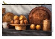Food - Lemons - Winter Spice  Carry-all Pouch by Mike Savad