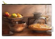 Food - Pie - Mama's Peach Pie Carry-all Pouch by Mike Savad