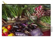 Food - Vegetables - Very Fresh Produce  Carry-all Pouch