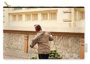 Food Vendor On Street Hanoi Vietnam Carry-all Pouch