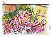 Football Flags From Palermo Carry-all Pouch