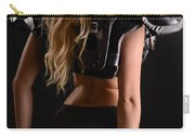 Football Girl Carry-all Pouch
