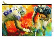Football IIi Carry-all Pouch by Lourry Legarde
