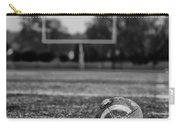 Football In Black And White Carry-all Pouch
