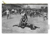 Football Injury, 1891 Carry-all Pouch