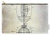 1925 Football Patent Drawing Carry-all Pouch