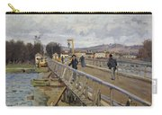 Footbridge At Argenteuil Carry-all Pouch